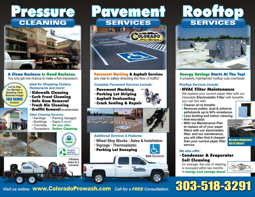 Download Brochure Denver Pressure Washing Colorado Pro