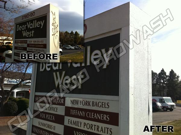 Graffiti Removal Denver Pressure Washing Colorado Pro Wash